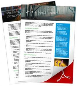 mental health leaflets